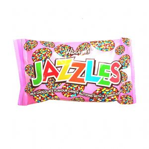 Milk Chocolate Hannah's Jazzles Jazzies - Candy Buttons Sweets 40g